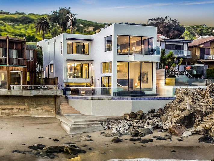 Barry Manilow's Malibu Beach House
