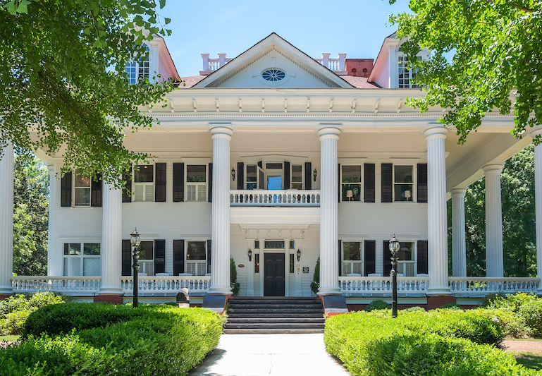 The Mansion from 'Gone with the Wind'
