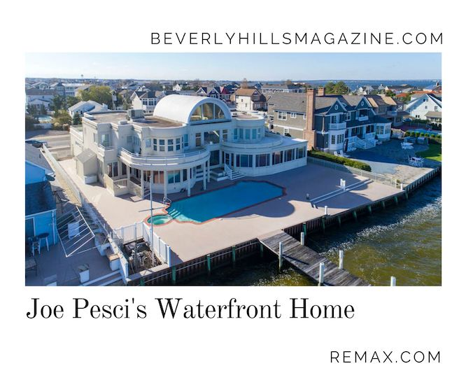 Joe Pesci's Waterfront Home #joepesci #luxury #realestate #homesforsale #celebrity #celebrityhomes #celebrityrealestate #dreamhomes #beverlyhills #bevhillsmag #beverlyhillsmagazine