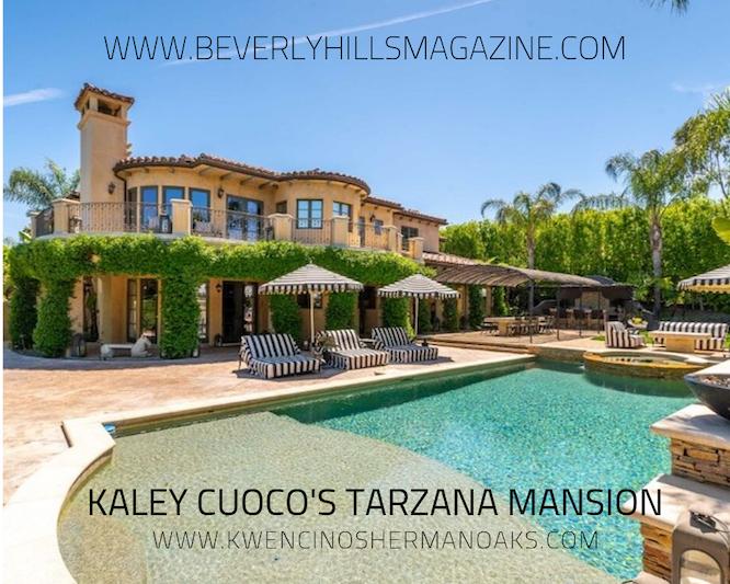 Kaley Cuoco's Tarzana Home