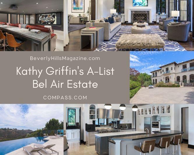Kathy Griffin's A-List Bel Air Estate #luxury #realestate #homesforsale #celebrity #celebrityhomes #celebrityrealestate #dreamhomes #kathygriffin #beverlyhill #beverlyhillsmagazine #bevhillsmag