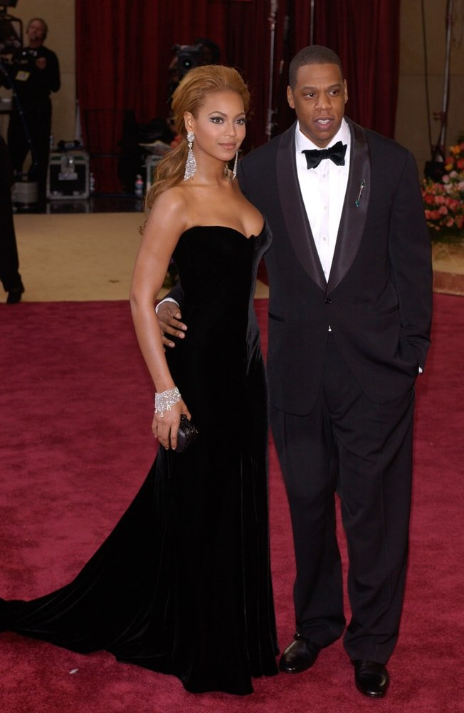 Jay-Z and Beyonce On Red Carpet