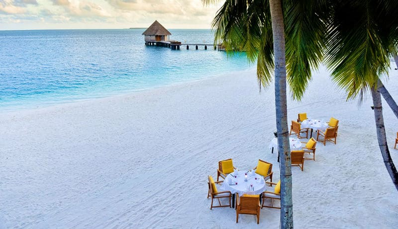 Exclusive Conrad Maldives Rangali Island Resort #travel #vacation #maldives #islands #island #beaches #hotels #resorts #bevhillsmag #beverlyhillsmagazine #beverlyhills #luxury #conradmaldives