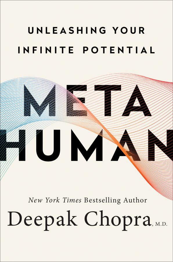 deepak chopra, metahuman, book