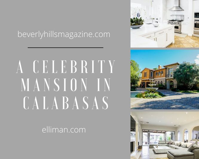 A Celebrity Mansion in Calabasas #selenagomez #frenchmontana #luxury #realestate #homesforsale #celebrity #celebrityhomes #celebrityrealestate #dreamhomes #beverlyhills #bevhillsmag #beverlyhillsmagazine