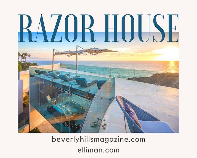 Razor House: Alicia Keys' New Home #aliciakeys #luxury #realestate #homesforsale #celebrity #celebrityhomes #celebrityrealestate #dreamhomes #beverlyhills #bevhillmag #beverlyhillsmagazine