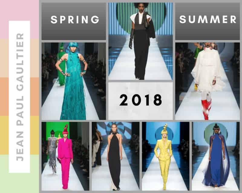 Jean Paul Gaultier SS Runway Fashion 2018