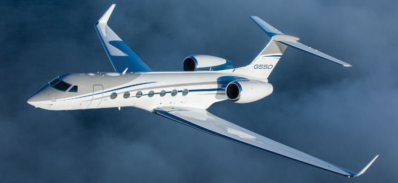 Private Jet: The Efficient Gulfstream G550