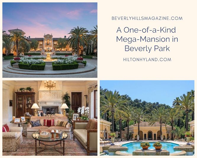 A One-of-a-Kind Mega-Mansion in Beverly Park #luxury #realestate #homesforsale #dreamhomes #beverlyhills #bevhillsmag #beverlyhillsmagazine
