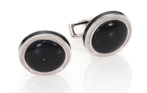 Silver & Black Onyx CUff Links. BUY NOW!!! #beverlyhillsmagazine #beverlyhills #fashion #style #shop #shopping  #shoes  #styleformen