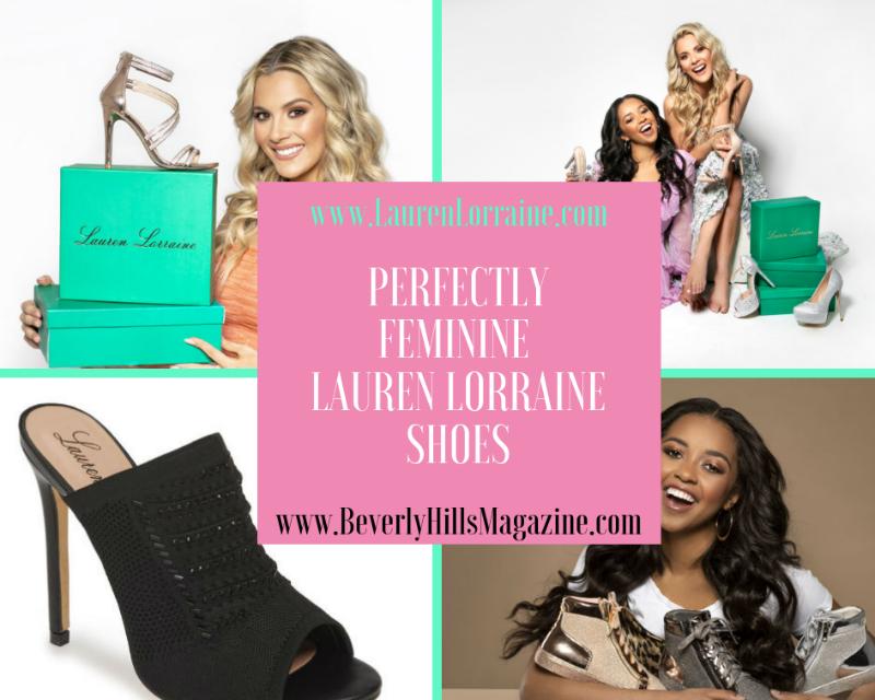 Beautiful Models Wearing Lauren Lorraine Shoes