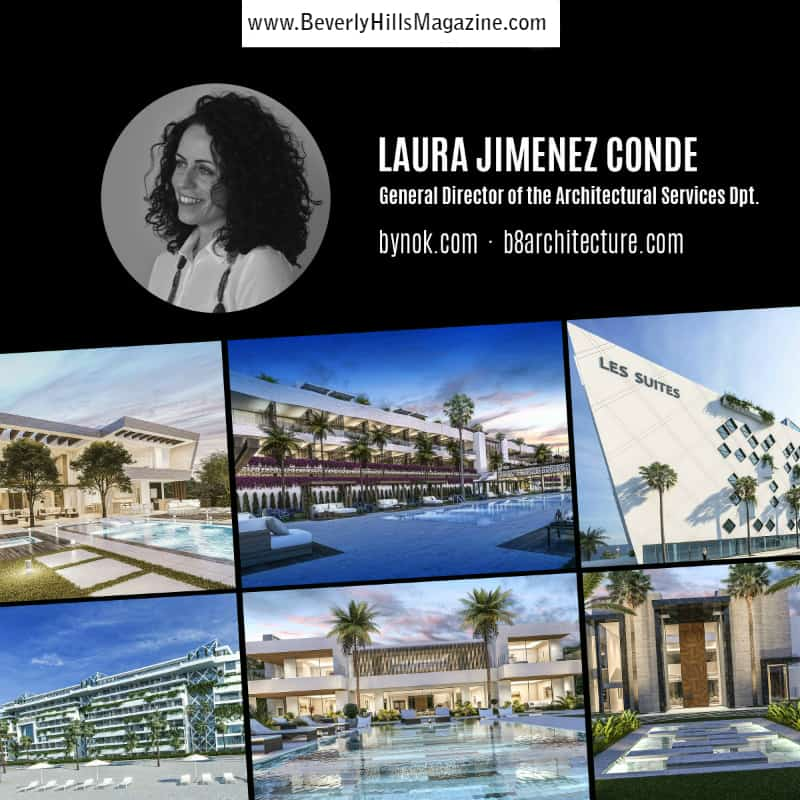 LAURA JIMENEZ CONDE: CEO of the Architecture Department at Bynok ❤️✨ #bynok #architecture #design #dreamhomes #builders #luxury #homes #beverlyhills #spain #bevhillsmag #realestate #homesforsale #beverlyhillsmagazine #luxury #homes #homebuilder #custom #dreamhome