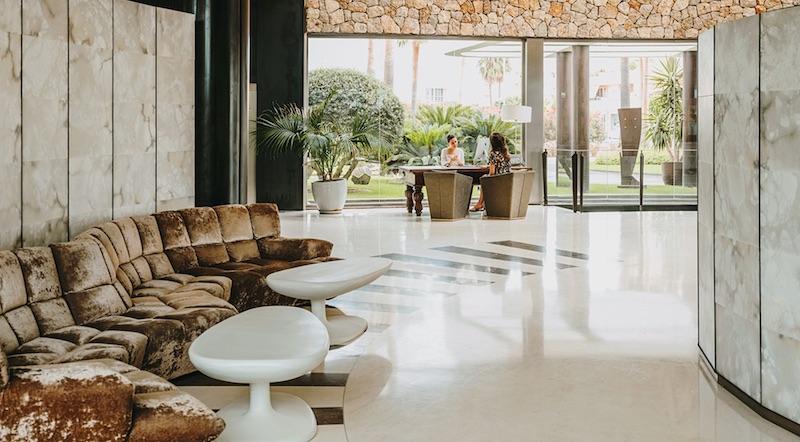 Aguas de Ibiza: An Eco-luxury Hotel #travel #fivestarhotels #luxuryhotel #vacation #exclusivegetaway #beverlyhillsmagazine #beverlyhills