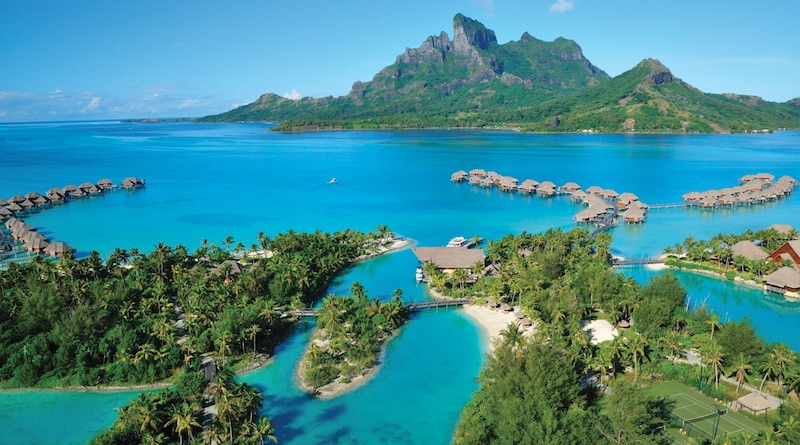 A Tropical Vacation at Four Seasons Bora Bora #travel #fivestarhotels #luxuryhotel #vacation #exclusivegetaway #beverlyhillsmagazine #beverlyhills #fourseasonsborabora #fourseasons