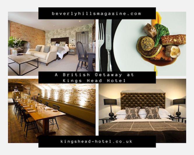 A British Getaway at Kings Head Hotel #travel #fivestarhotels #luxuryhotel #vacation #exclusivegetaway #beverlyhillsmagazine #beverlyhills