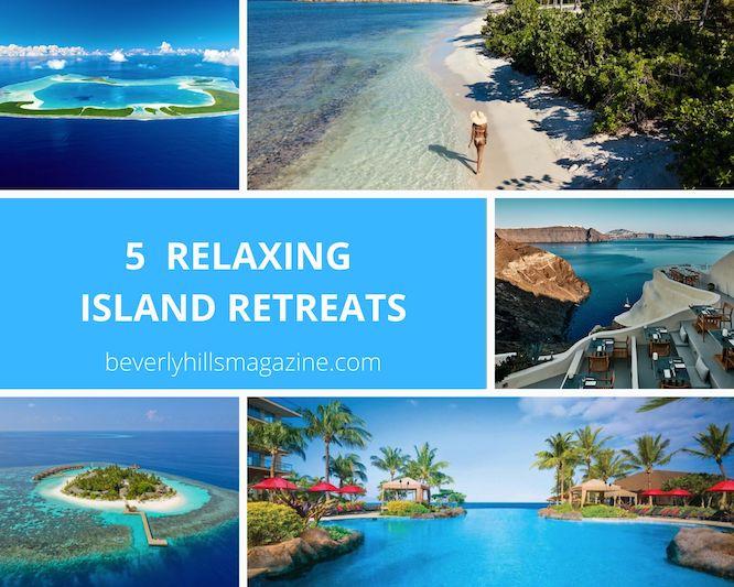 5 Relaxing Island Retreats #travel #fivestarhotels #luxuryhotel #vacation #exclusivegetaway #beverlyhillsmagazine #beverlyhills #thebrando #mystiquehotel #kandolhumaldives #jumbybayisland #honuakairesort