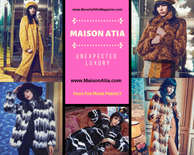MAISON ATIA: Faux Fur Made Perfect. SHOP NOW!!! ❤️ #fashion #style #shop #shopping #clothing #beverlyhills #designer #fauxfur #coats #beverlyhillsmagazine #bevhillsmag #dresses