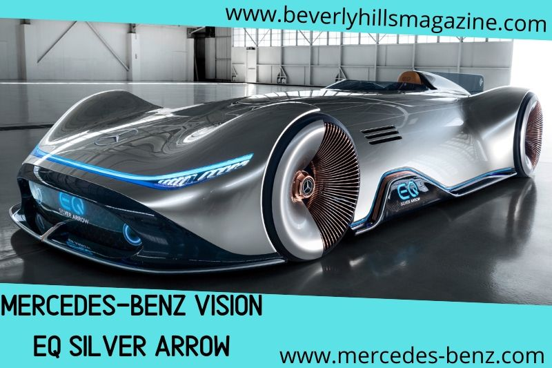 Dream Car| The Mercedes EQ Silver Arrow#dream cars#fast cars#cool cars#car magazine#luxury cars#cars#beverly hills#beverly hills magazine