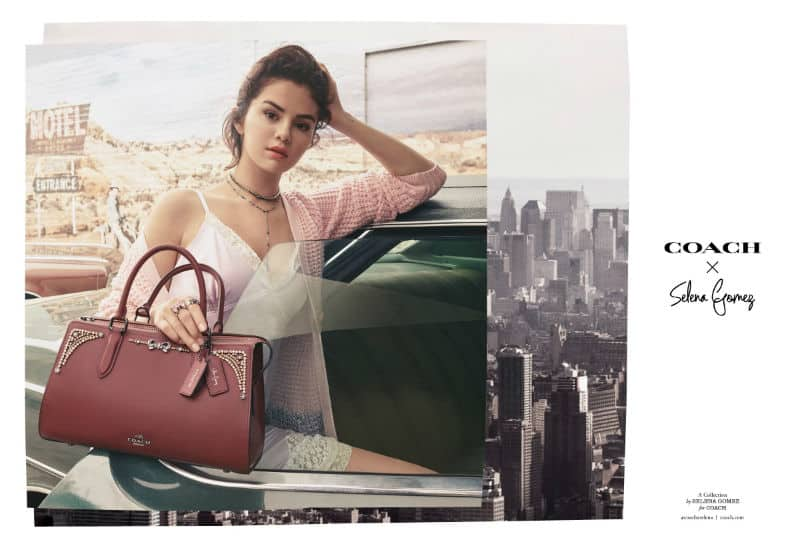 COACH X SELENA GOMEZ. SHOP NOW!!! #BevHillsMag #CoachxSelena #beverlyhillsmagazine #love #coach #fashion #style #celebrities #selenagomez #celebitystyle ##shopping