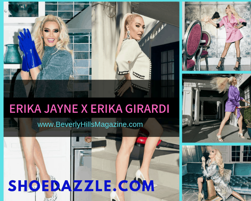SHOEDAZZLE X ERIKA JAYNE COLLECTION. SHOP TODAY! #fashion #style #shop #shopping #clothing #beverlyhills #shoes #designer #manoloblahnik #highheels #shoes #heels #beverlyhillsmagazine #bevhillsmag #erikajayne #erikagirardi