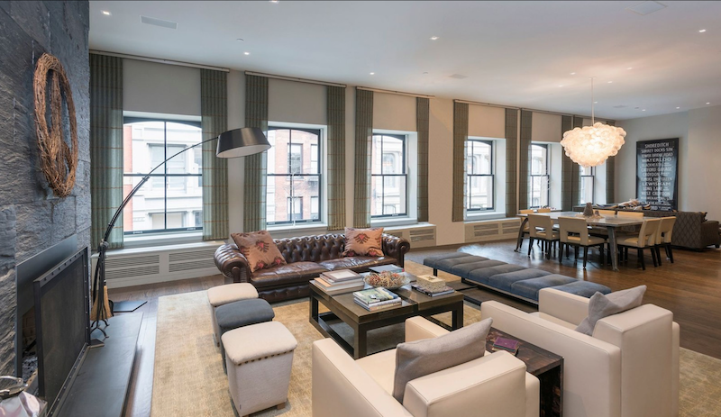 A Luxury Loft in SoHo