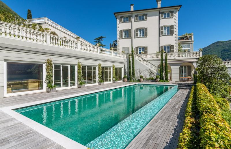 A Luxe Villa on Lake Como