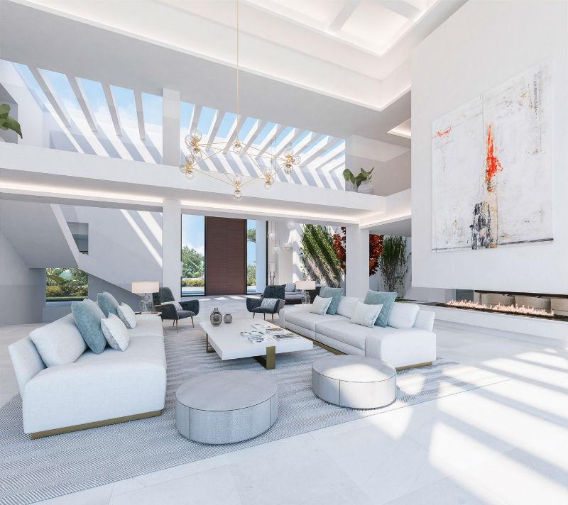 Ibiza Breeze House: A Zagaleta Mansion #spain #costadelsol #realestate #dreamhomes #behillsmag #bevelryhills #beverlyhillsmagazine #zagaleta #luxury #homes #maddisonestates