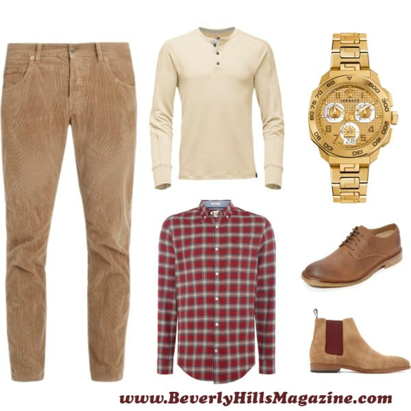 Beige Corduroy Style For Men- #bevhillsmag #BevHillsMag #beverlyhillsmagazine #fashion #style #newstyles #fashionblog #shop #shopping #clothes #fashionworld #fashionmagazine #instyle #stylemagazine