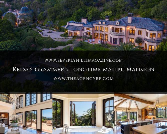 Kelsey Grammer's Longtime Malibu Mansion