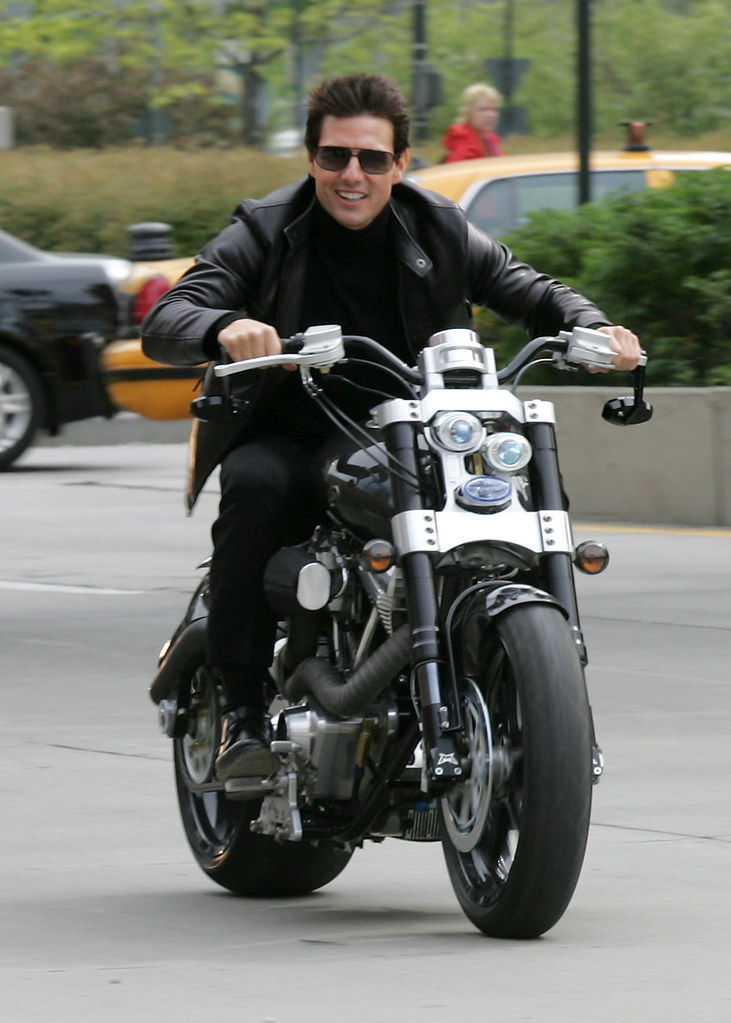 Celebrities Who Love Their Motorbikes Like Tom Cruise