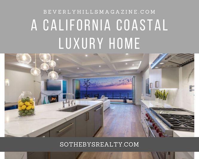 A California Coastal Luxury Home #luxury #realestate #homesforsale #dreamhomes #beverlyhills #bevhillsmag #beverlyhillsmagazine #californiahome #manhattanbeach