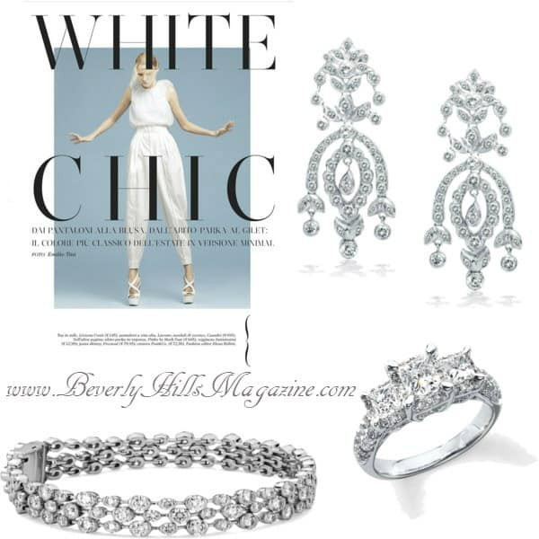 White Diamonds- #bevhillsmag #BevHillsMag #beverlyhillsmagazine #jewelry #shop #silver #diamonds #rings #gold #jewels #style #shopping #jewellery