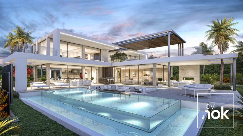 Villa Alegria: An Exquisite Bynok Estate #Spain #CostaDelSol #dreamhomes #realestate #homesforsale #Marbella #mansions #estates #beverlyhills #beverlyhillsmagazine #luxury #exclusive #luxurylifestyle #beautiful #life #beverlyhills #BevHillsMag #Marbella #espana #Spain #villa #estepona #bynok @Bynok
