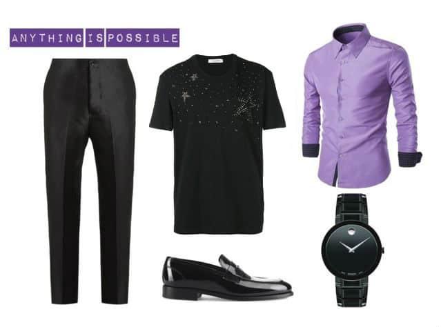 Cool Men's Style With Purple. SHOP NOW!!! #BevHillsMag #beverlyhillsmagazine #fashion #style #shopping #styleformen