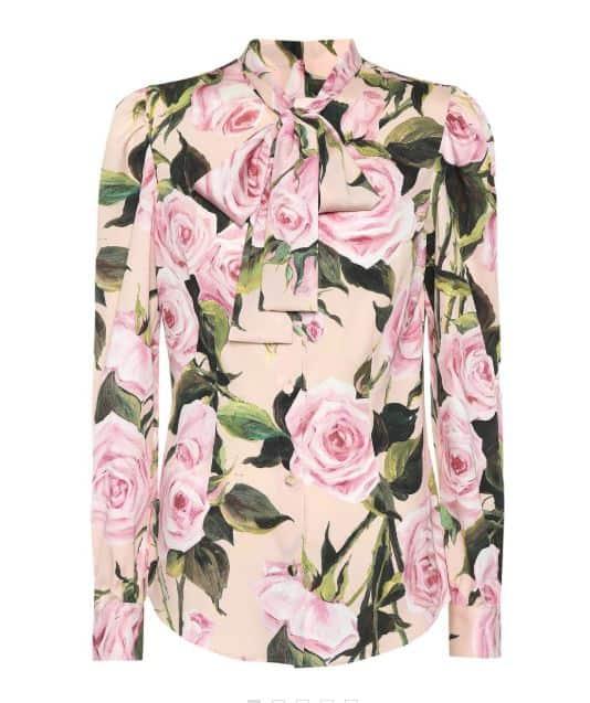 Dolce & Gabbana Silk Blouse. BUY NOW!!! #shop #fashion #style #shop #shopping #clothing #beverlyhills #beverlyhillsmagazine #bevhillsmag