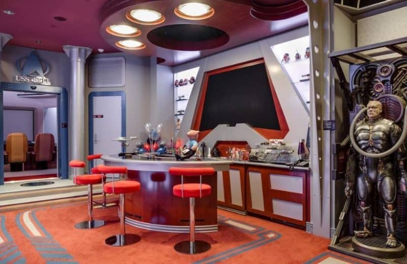 Florida Star Trek Mansion