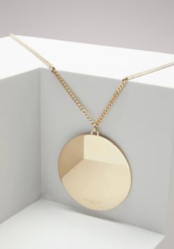 Givenchy Mirrored Round Necklace. BUY NOW!!!