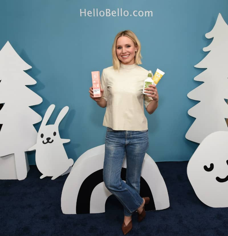 Kristen Bell Launches Baby Product Line, Hello Bello #kristenbell #celebrities #hellobello #baby #mom #motherhood #parenting #babyproducts #bevhillsmag #beverlyhills #beverlyhillsmagazine