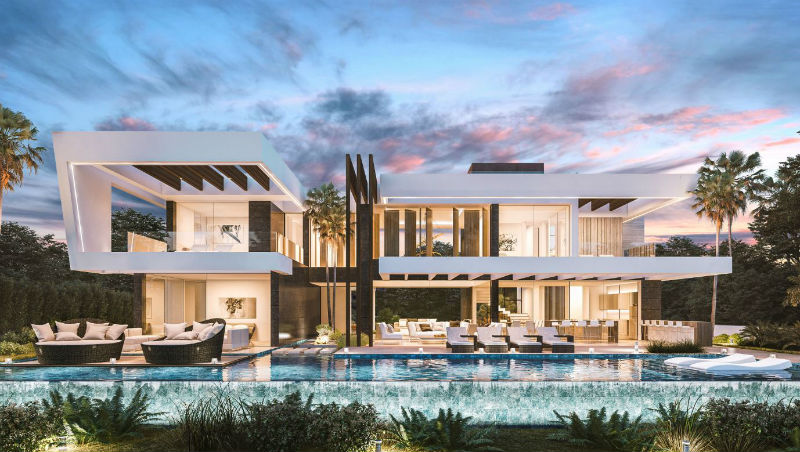 Modern Home With Architecture BY Nok