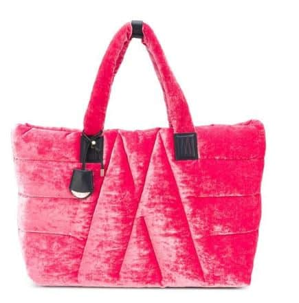 Pink Leather And Silk Montcler Luxury Handbag. BUY NOW!!! #shop #fashion #style #shop #shopping #clothing #beverlyhills #dress #shoes #boots #beverlyhillsmagazine #bevhillsmag #handbags #purses #bags #jewelry #jewellery #rings #diamonds #diamond #ring #highheels #shoes #shopstyle #handbags #handbag #purses