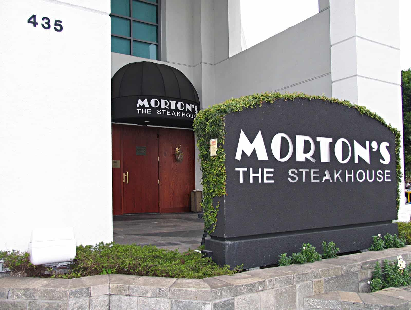 Morton's Steakhouse Beverly Hills