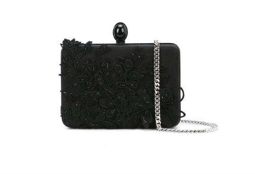 Oscar De La Renta Handbag. BUY NOW!!! #fashion #style #shop #shopping #clothing #beverlyhills #shoes #designer #highheels #purses #skirt #dresses #handbags #stylemagazine #fashionmagazine #fashionworld #fashionblog #love #clothes #beverlyhillsmagazine #bevhillsmag
