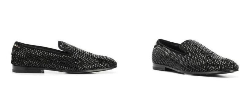 Philipp Plein Luxury Man loafers.