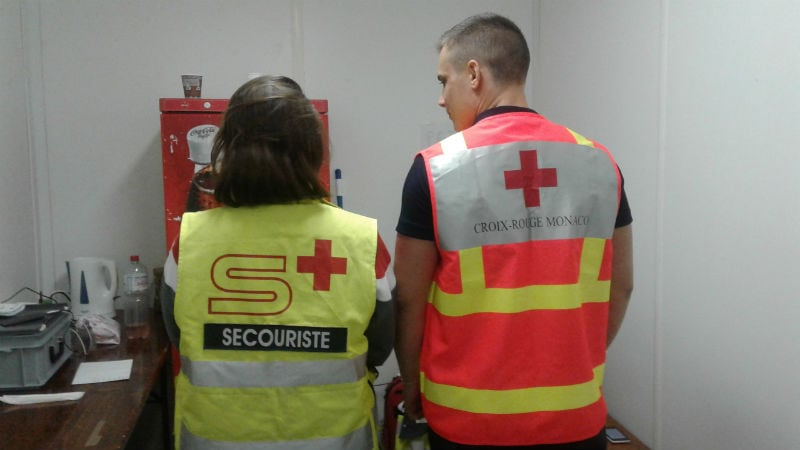 Monaco Red Cross gears up for the Grand Prix