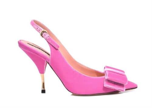 Rochas Slingback Pumps. BUY NOW!!! #pink #fashion #style #shop #styles #beverlyhills #bevhillsmag #beverlyhillsmagazine