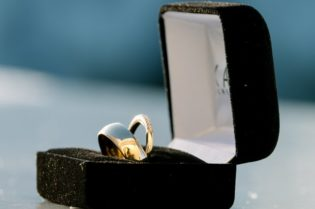 The Beauty of Mismatched #Wedding Rings