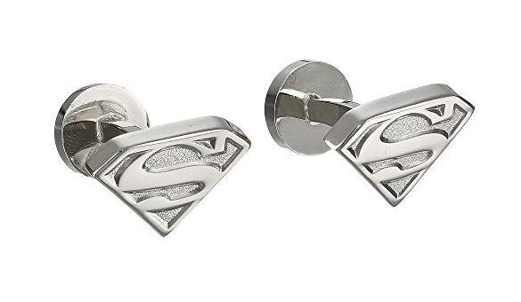 Superman Cufflinks. BUY NOW!!! #beverlyhillsmagazine #beverlyhills #fashion #style #shop #shopping #shoes #styleformen