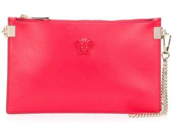 Red Versace Clutch. BUY NOW!!!