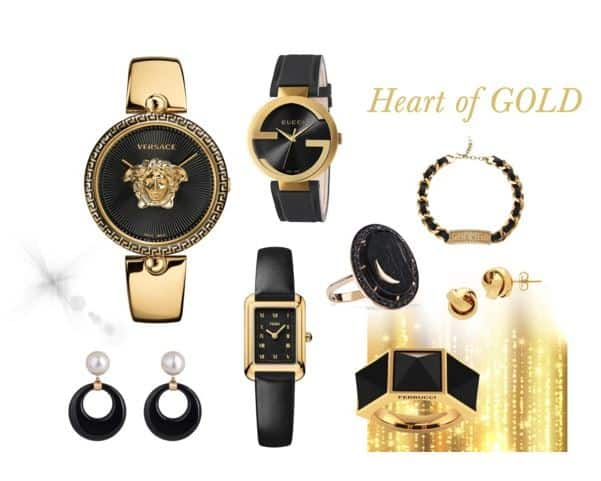 Heart of Gold Jewelry Collection