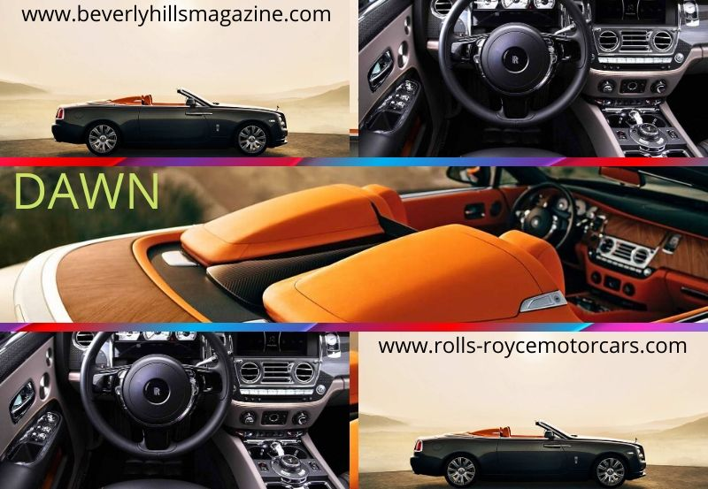 Rolls-Royce Luxury Car: The Convertible Dawn#luxury car#cars#car magazine#fast cars#dream cars#cool cars#car#beverly hills#beverly hills magazine